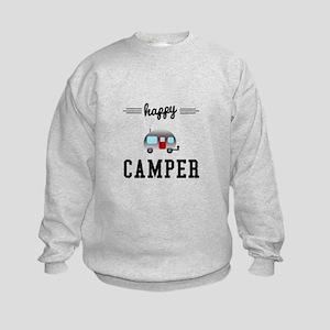 Happy Camper Kids Sweatshirt