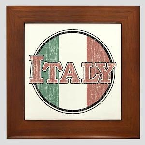 VINTAGE Italy Framed Tile