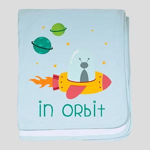 In Orbit baby blanket