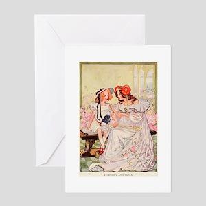 Dorothy and Ozma Greeting Card