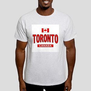Toronto Canada Ash Grey T-Shirt