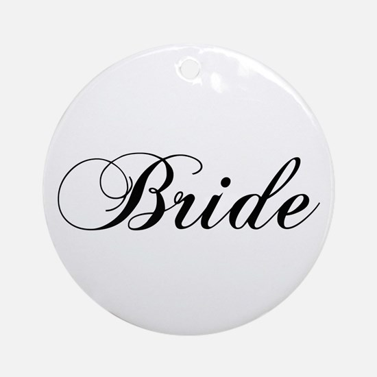 Bride1.png Ornament (round)
