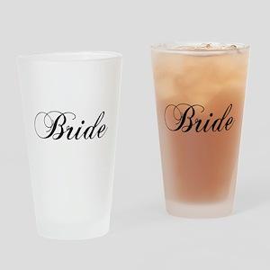 Bride1 Drinking Glass