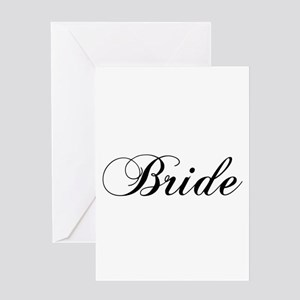 Bride1 Card Greeting Cards