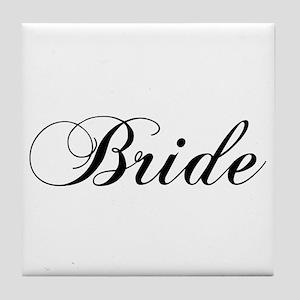 Bride1.png Tile Coaster