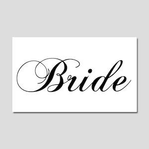 Bride1.png Car Magnet 20 X 12