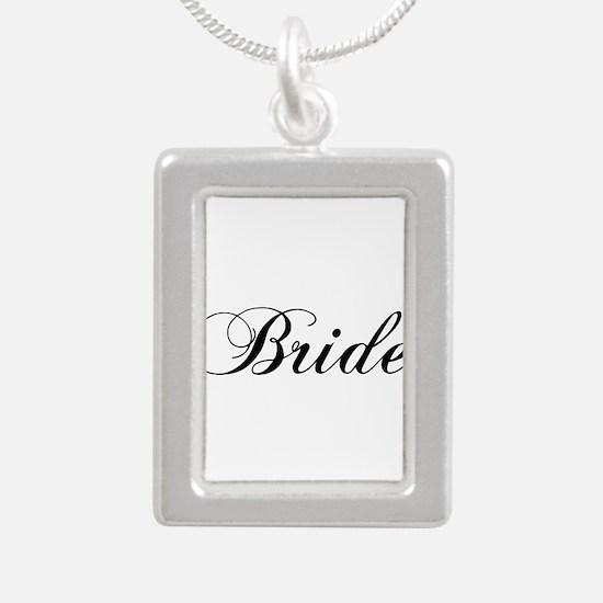 Bride1.png Silver Portrait Necklace Necklaces