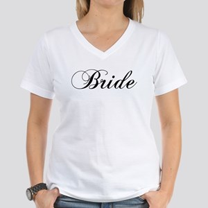 Bride1 Women's V-Neck T-Shirt