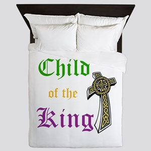 Child Of The King Queen Duvet
