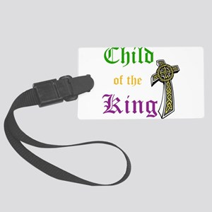Child Of The King Large Luggage Tag