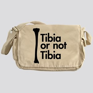 Tibia or not Tibia Messenger Bag