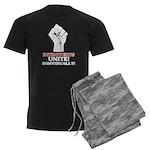 Introverts Unite (Dark) Men's Dark Pajamas