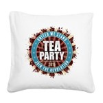 United We Stand 2016 Square Canvas Pillow