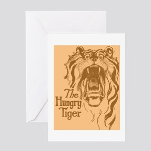 Oz The Hungry Tiger Greeting Card