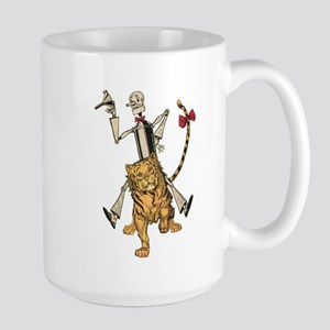 Oz Tin Woodman and Hungry Tiger Large Mug