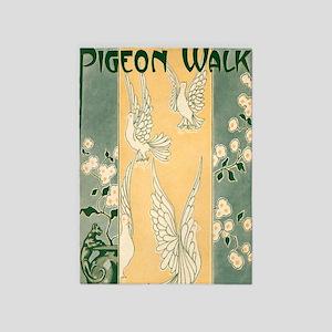 Pigeon Walk 5'x7'Area Rug
