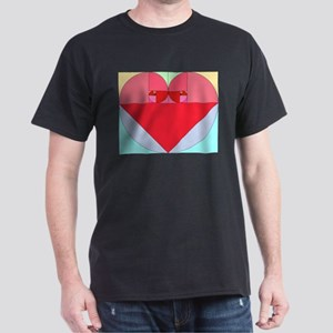 Golden Ratio Heart Dark T-Shirt