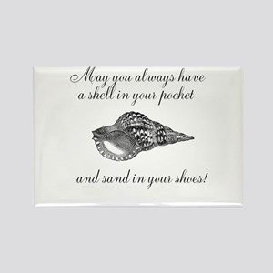 Shell in your pocket Rectangle Magnet