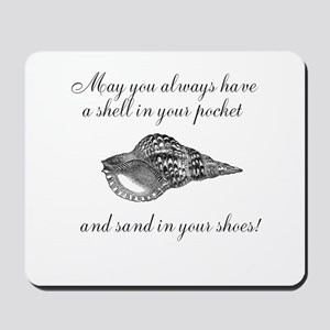 Shell in your pocket Mousepad