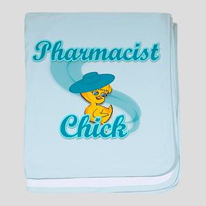 Pharmacist Chick #3 baby blanket