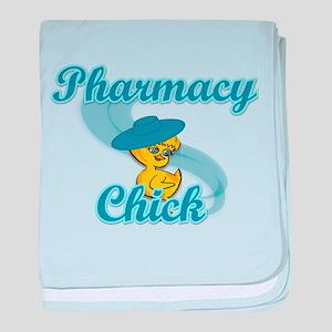 Pharmacy Chick #3 baby blanket