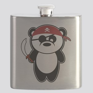 Pirate Panda Flask