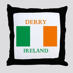 Derry Ireland Throw Pillow