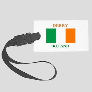 Derry Ireland Large Luggage Tag