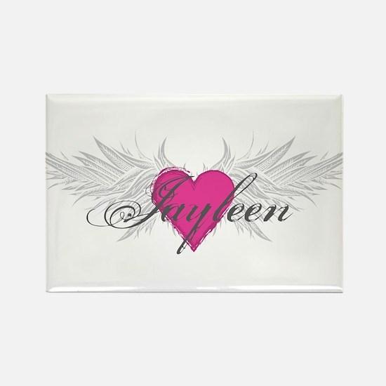 My Sweet Angel Jayleen Rectangle Magnet