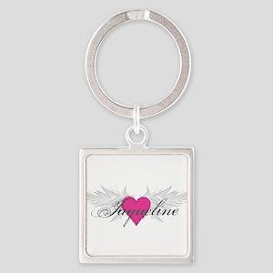My Sweet Angel Jaqueline Square Keychain