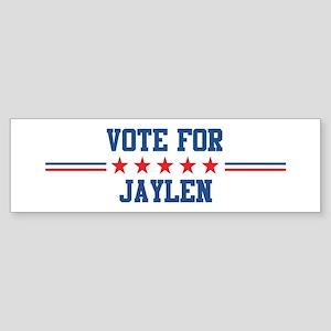 Vote for JAYLEN Bumper Sticker