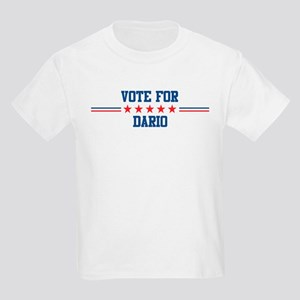 Vote for DARIO Kids T-Shirt
