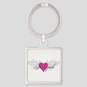 My Sweet Angel Jaliyah Square Keychain