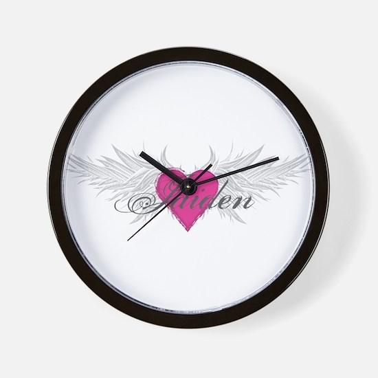 My Sweet Angel Jaiden Wall Clock