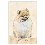 Pomeranian (Orange) Large Poster
