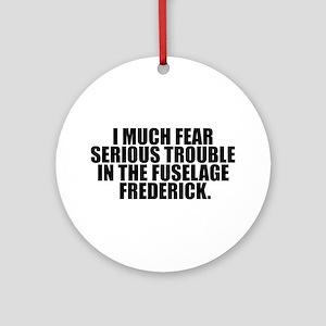 Fuselage Frederick Ornament (Round)