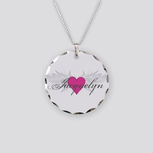 My Sweet Angel Jacquelyn Necklace Circle Charm