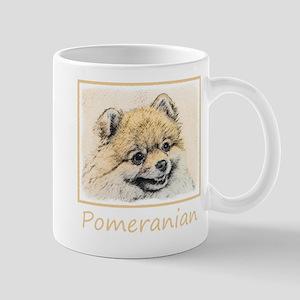 Pomeranian (Orange) 11 oz Ceramic Mug