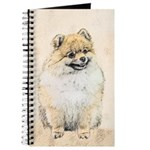 Pomeranian (Orange) Journal