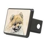 Pomeranian (Orange) Rectangular Hitch Cover