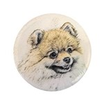 Pomeranian (Orange) Button