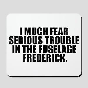 Fuselage Frederick Mousepad