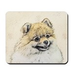 Pomeranian (Orange) Mousepad