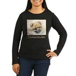 Pomeranian (Orang Women's Long Sleeve Dark T-Shirt