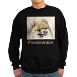 Pomeranian (Orange) Sweatshirt (dark)