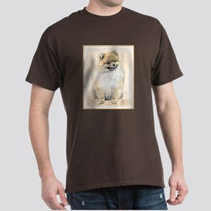 Pomeranian (Orange) Dark T-Shirt