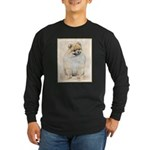 Pomeranian (Orange) Long Sleeve Dark T-Shirt