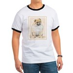 Pomeranian (Orange) Ringer T