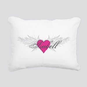My Sweet Angel Isabell Rectangular Canvas Pillow