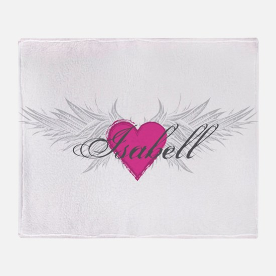 My Sweet Angel Isabell Throw Blanket